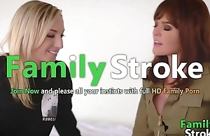 FamilySTROKE.net - Perfect MOM with the addition of Lesbian Step-Daughter