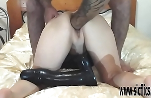 XXL vagina fisting and colossal dildo insertions