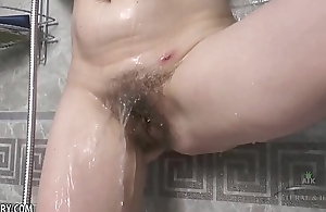 Margo Portman receives her hairy twat dripping wringing wet