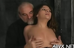 Loads of nasty amatur bondage porn with hawt matures