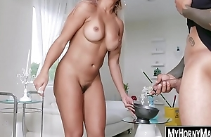 Housekeeper Mercedes Carrera mill on team a few BBC brothers