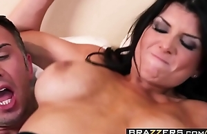Chunky Tits teacher (Romi Rain) rides some cock - BRAZZERS