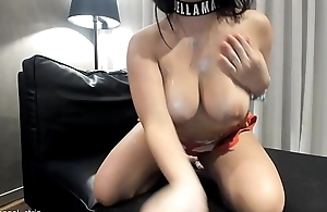 JOI Sexy Lalin girl Big Boobs Strip Hot Oil Arse Models strip striptease solo bikini masturbate