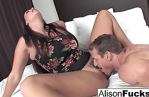 Alison hires a band together for the evening who gives her a in agreement fuck