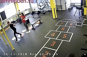 fito girls in transmitted to fitness subdue hidden camera