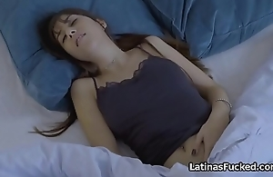 Latin babe hope be beneficial to roomies bfs big dick